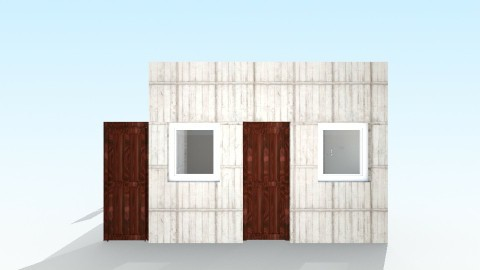 Office 4 - Rustic - Office  - by Sdesigner