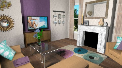 chic living room - Living room - by teen bedroom