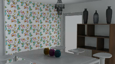 my funcky dining room - Dining Room  - by bethanyboop