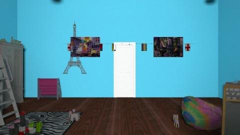 Modern Princess - Glamour - Kids room  - by roxyroller96