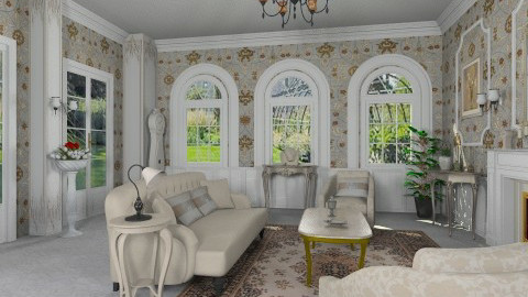 Boudoir - Classic - Living room  - by Bibiche