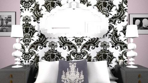 Perfectly Paris Bedroom - Vintage - Bedroom  - by Allie03102