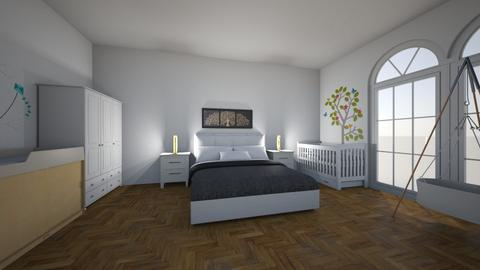 Tree on the wall - Classic - Bedroom - by Twerka
