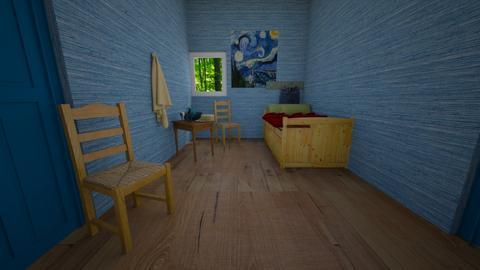 Vincent Van Gogh Bedroom - Bedroom  - by home_designer10
