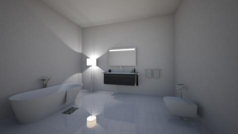 my 4th design - Bathroom  - by OferneH