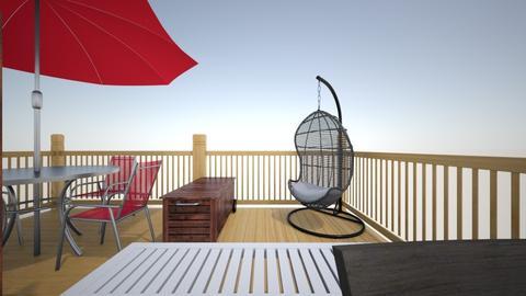 rooftop - Garden  - by Febi Robianti
