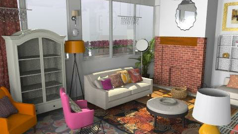 My Loft - Vintage - Living room  - by toadfool