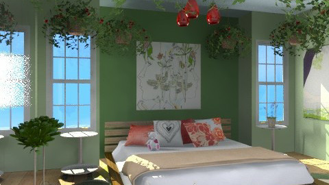 love in nature - Eclectic - Bedroom  - by chania