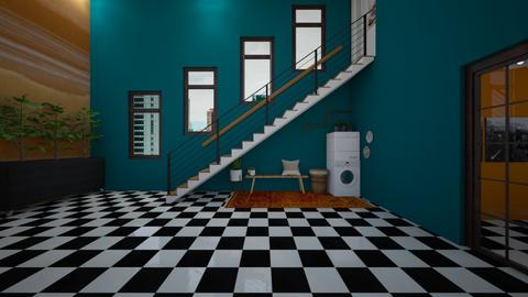 Maximalist Hallway - Eclectic - by helsewhi
