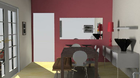 salle manger V7 - Dining Room  - by johanne