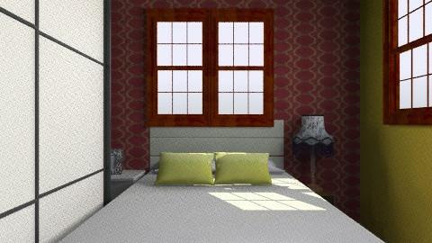 main pondok2 II - Retro - Bedroom  - by zalehasiah ahmad