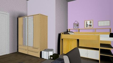 Quarto de Solteiro - Modern - Bedroom - by PriscilaVitalino