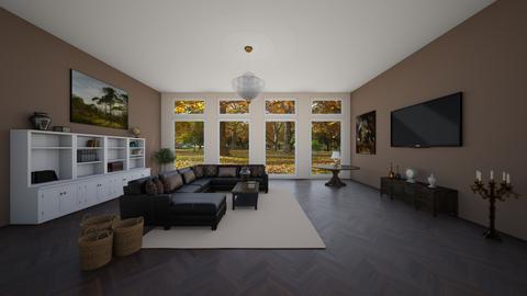 Vintage cozy living room - Vintage - Living room  - by EllaWinberg