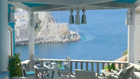 Sunny Greece - Classic - Garden  - by Bibiche