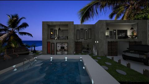 Concret house - Modern - Garden  - by soralobo