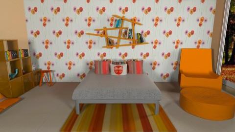 Projeto Paola Laranja - Glamour - Bedroom  - by Paola ApMoura