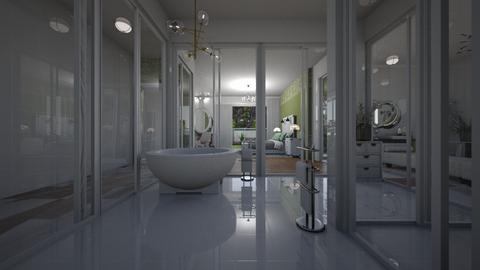 Branco e Verde - Bedroom  - by Maria Helena_215
