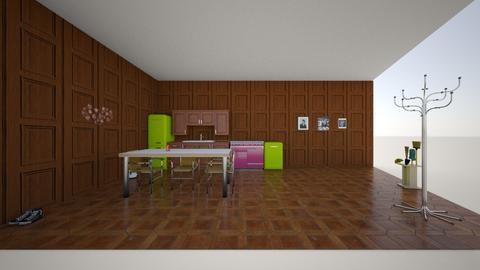 kitchen - by Reece Brandt