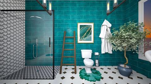 dream bathroom  - Bathroom  - by meghanfritts