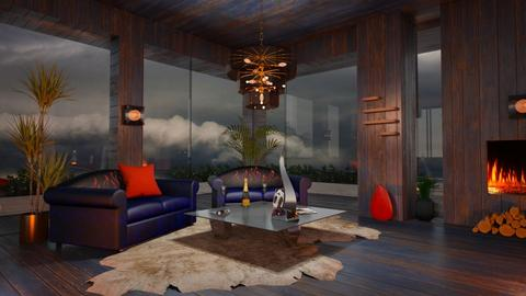 Storm is coming - Living room  - by ZsuzsannaCs
