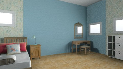 simple guest bedroom - Minimal - Bedroom  - by mimiB