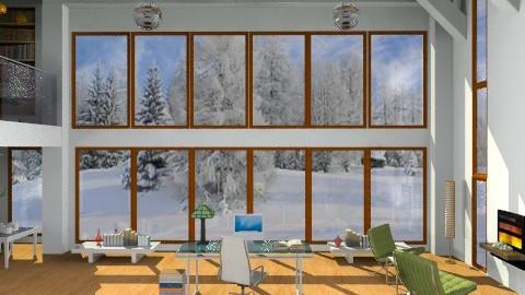Cold Swedish Winter - Modern - Office  - by johannaviola87