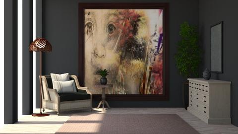 look at  me - Living room  - by rasty