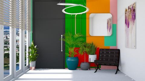 Playful hallway - by Aymee Estrella