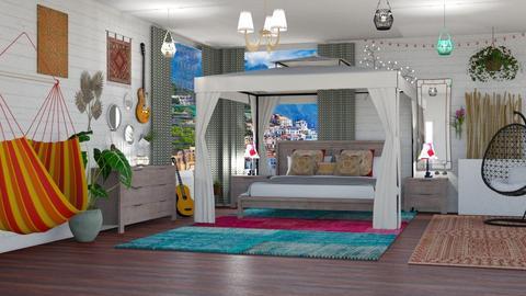 Bohemian room - by NinjaKidd22431