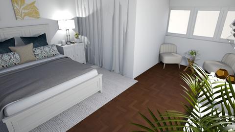 white room - Bedroom - by avivalouf272