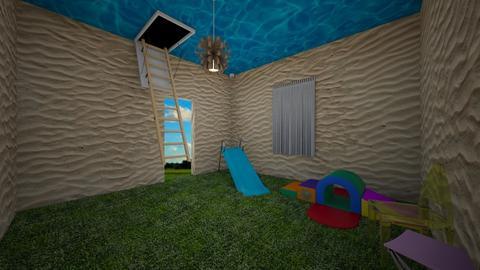 Weird room - Kids room  - by RoseRouge888