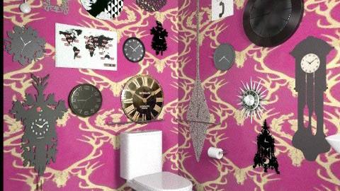 Wanderlust Bathroom  - Eclectic - Bathroom - by MaryFerrisFDC