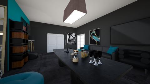 Blanks Room - Bedroom  - by Skeletal404