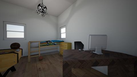 my footballroom  - Kids room  - by I like soccer