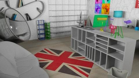 design office - Modern - Office  - by emanuelstudios