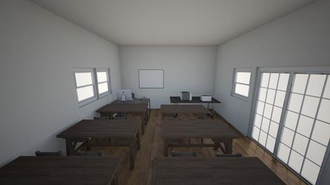 classroom - Office  - by jhon sastra putra lase
