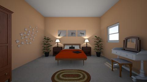Rustic master bedrrrroom - Rustic - Bedroom  - by bethdonoghue1