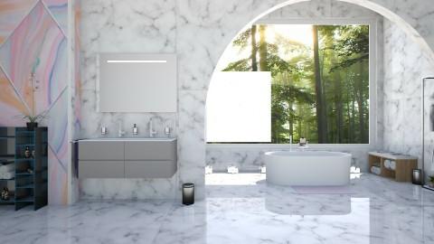Marble - Modern - Bathroom - by Uroosa Bint E Haroon