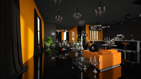 gothic 2012 frank ocean - Dining room - by ShrimpScampi21