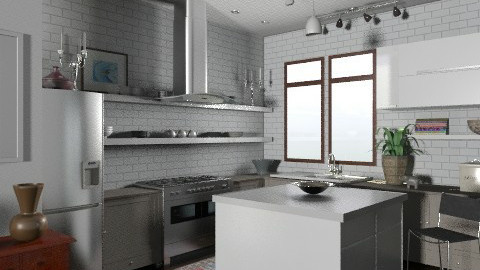 Random Spaces - Kitchen - Eclectic - Kitchen  - by LizyD