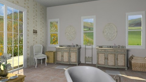Salina Sink ChestBathroom - Country - Bathroom  - by giulygi