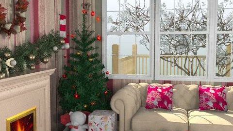 mark and spencer happy christmas1225 - Classic - Living room  - by leendave