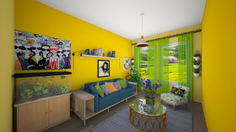 Summer Brez  - Living room - by mycha