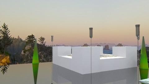 pool aria (outdoor) - Modern - Garden  - by matas9