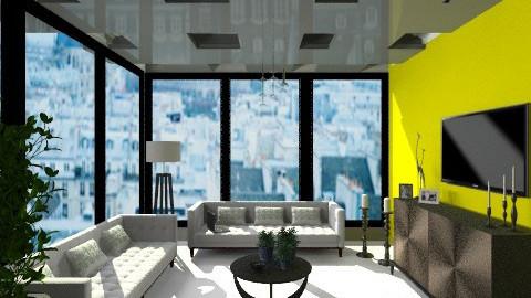 Borrowed plain - Minimal - Living room - by Gargiulo Marzio