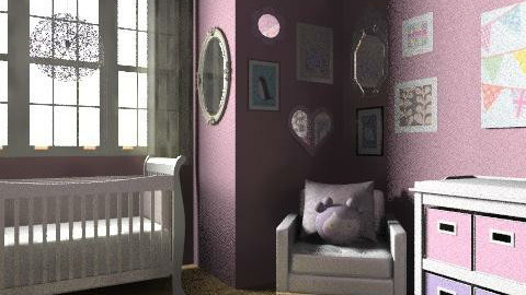 Baby Girl - Feminine - Kids room - by elliefant