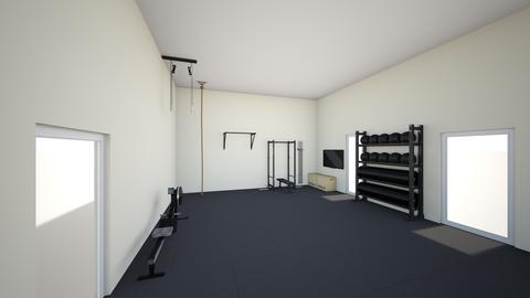 new house gym - by rogue_78ee039545392ca55fb0f7a18b8ec