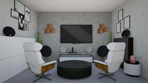 Fun Gaming Room - by MyDesignIdeas