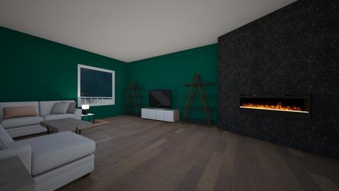 IP Terrazzo - Living room  - by racheycakes38