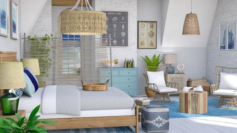 relax beach besroom - Living room  - by Moonpearl